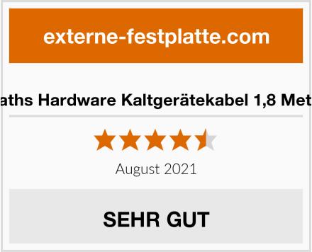 Naths Hardware Kaltgerätekabel 1,8 Meter Test