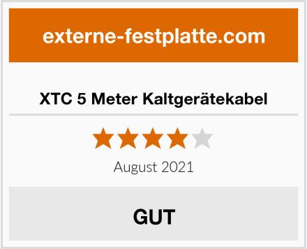 XTC 5 Meter Kaltgerätekabel Test