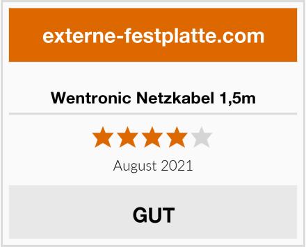 Wentronic Netzkabel 1,5m Test