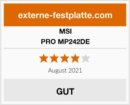 MSI PRO MP242DE Test