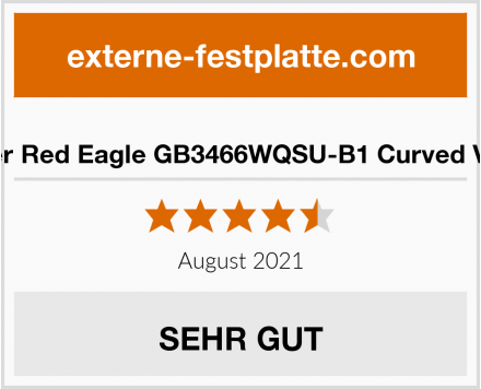 iiyama G-Master Red Eagle GB3466WQSU-B1 Curved VA LED-Monitor Test