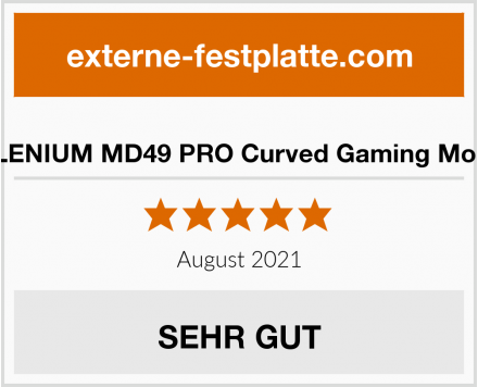 MILLENIUM MD49 PRO Curved Gaming Monitor Test