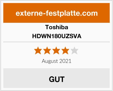 Toshiba HDWN180UZSVA Test