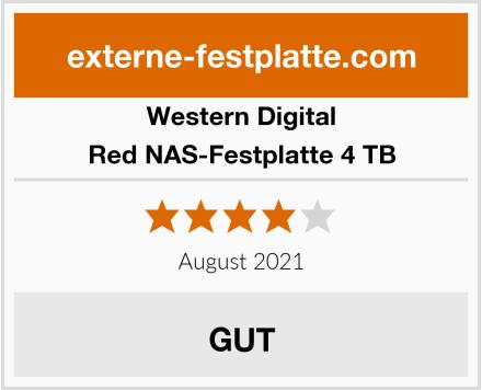 Western Digital Red NAS-Festplatte 4 TB Test