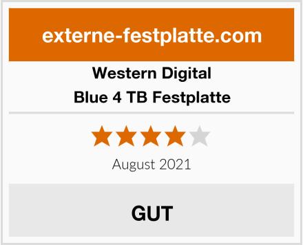 Western Digital Blue 4 TB Festplatte Test