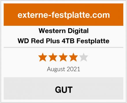 Western Digital WD Red Plus 4TB Festplatte Test