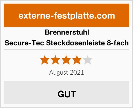 Brennerstuhl Secure-Tec Steckdosenleiste 8-fach Test