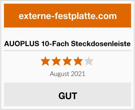 AUOPLUS 10-Fach Steckdosenleiste Test