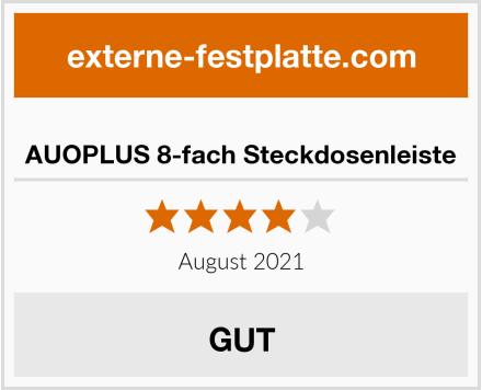 AUOPLUS 8-fach Steckdosenleiste Test