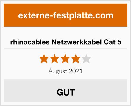 rhinocables Netzwerkkabel Cat 5 Test