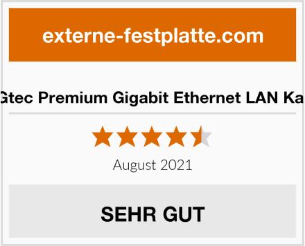 BIGtec Premium Gigabit Ethernet LAN Kabel Test