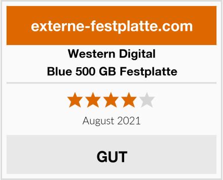 Western Digital Blue 500 GB Festplatte Test