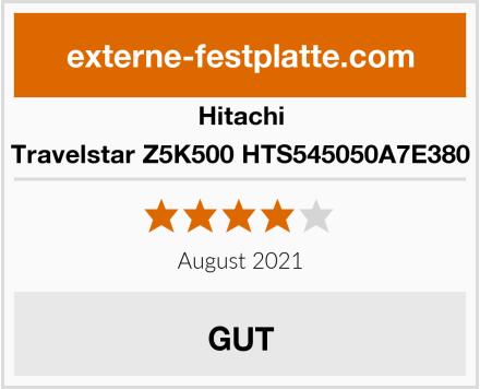 Hitachi Travelstar Z5K500 HTS545050A7E380 Test