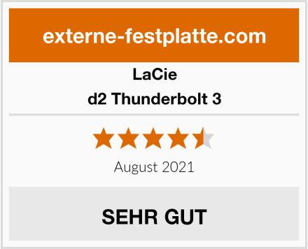 LaCie d2 Thunderbolt 3 Test