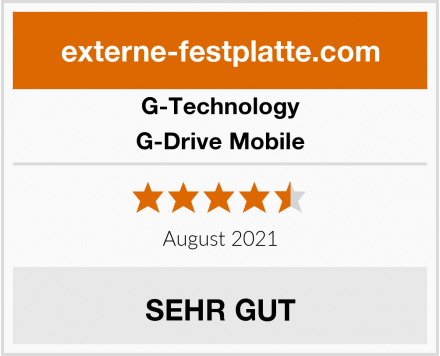 G-Technology G-Drive Mobile Test