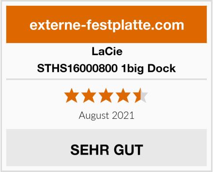 LaCie STHS16000800 1big Dock Test