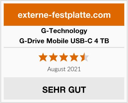 G-Technology G-Drive Mobile USB-C 4 TB Test
