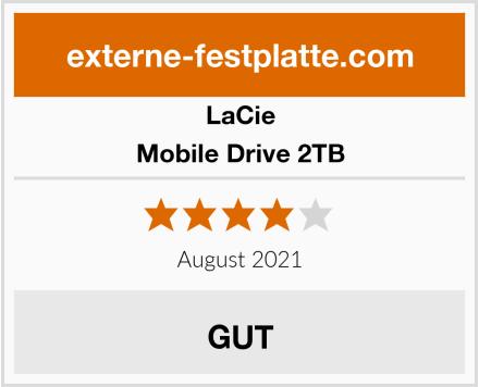 LaCie Mobile Drive 2TB Test