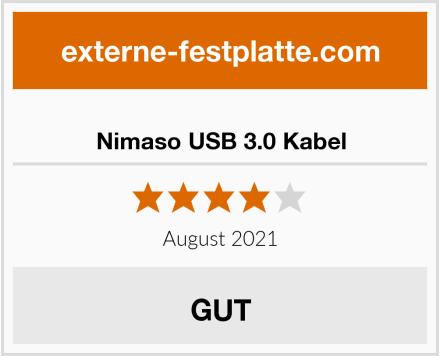 Nimaso USB 3.0 Kabel Test