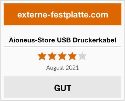 Aioneus-Store USB Druckerkabel Test