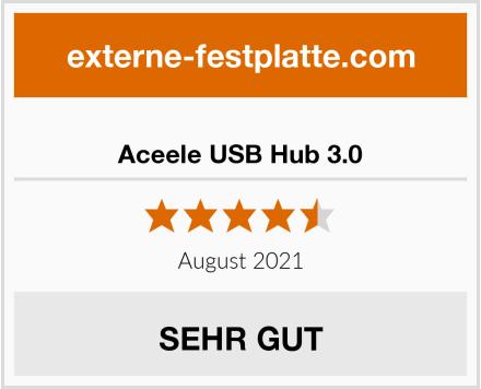 Aceele USB Hub 3.0 Test