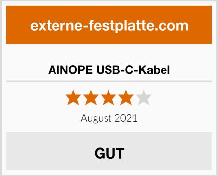 AINOPE USB-C-Kabel Test