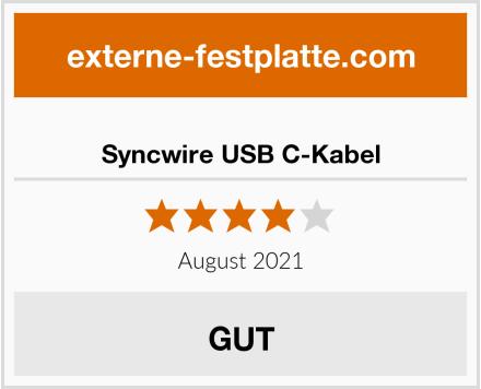 Syncwire USB C-Kabel Test