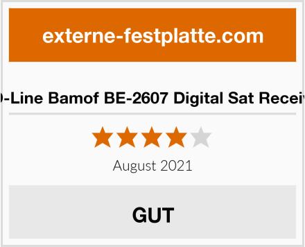 HD-Line Bamof BE-2607 Digital Sat Receiver Test