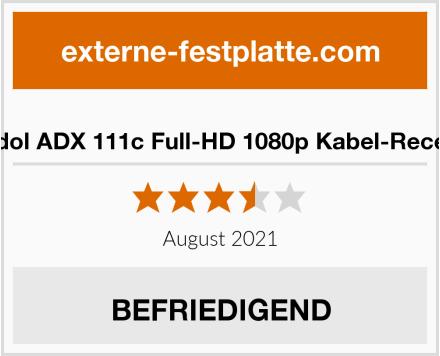 Anadol ADX 111c Full-HD 1080p Kabel-Receiver Test