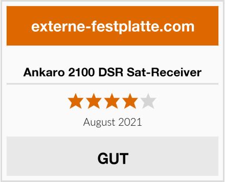 Ankaro 2100 DSR Sat-Receiver Test