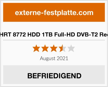 Xoro HRT 8772 HDD 1TB Full-HD DVB-T2 Receiver Test