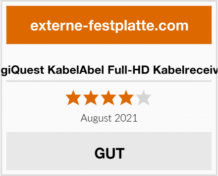 DigiQuest KabelAbel Full-HD Kabelreceiver Test