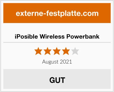 iPosible Wireless Powerbank Test