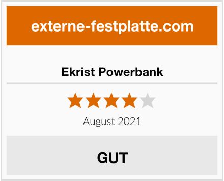 Ekrist Powerbank Test