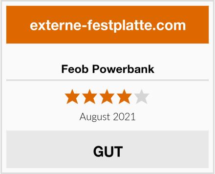 Feob Powerbank Test