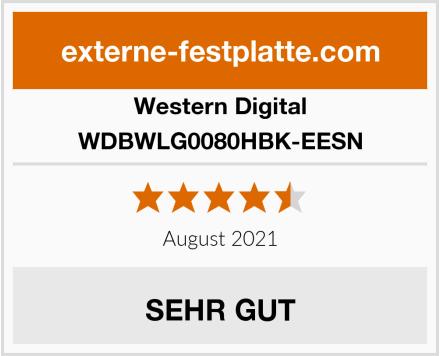 Western Digital WDBWLG0080HBK-EESN Test
