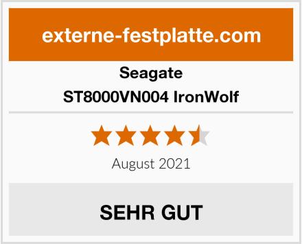 Seagate ST8000VN004 IronWolf Test