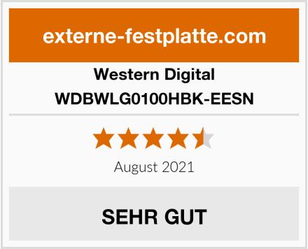 Western Digital WDBWLG0100HBK-EESN Test