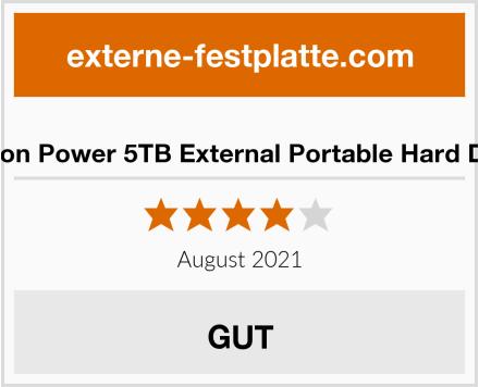 Silicon Power 5TB External Portable Hard Drive Test