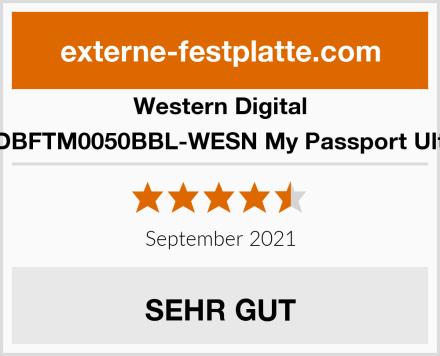 Western Digital WDBFTM0050BBL-WESN My Passport Ultra Test