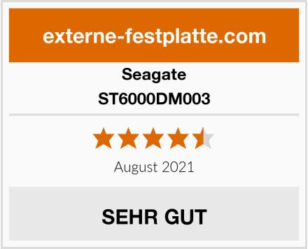 Seagate ST6000DM003 Test
