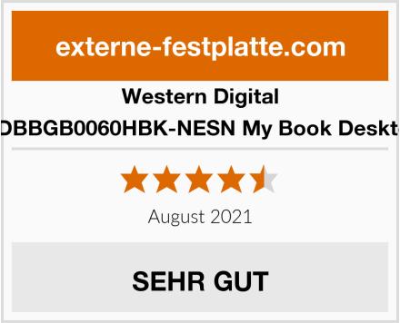 Western Digital WDBBGB0060HBK-NESN My Book Desktop Test