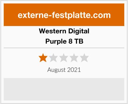 Western Digital Purple 8 TB Test