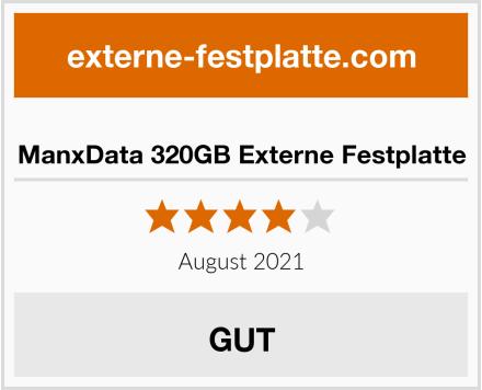 ManxData 320GB Externe Festplatte Test