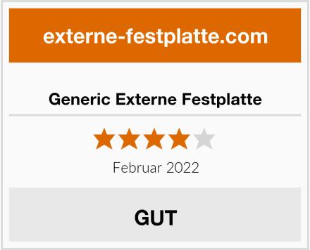Generic Externe Festplatte Test