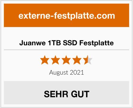 Juanwe 1TB SSD Festplatte Test