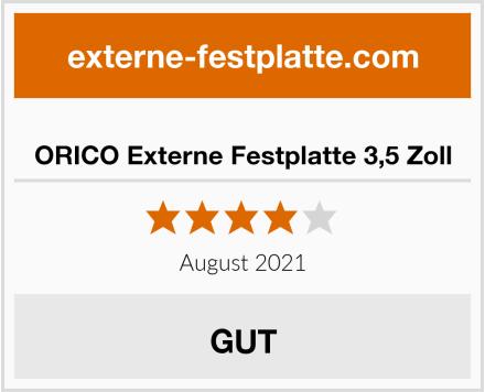 ORICO Externe Festplatte 3,5 Zoll Test