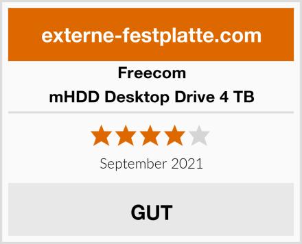 Freecom mHDD Desktop Drive 4 TB Test