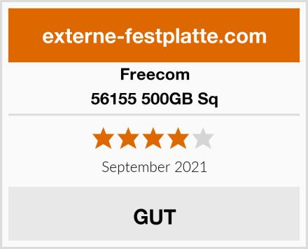 Freecom 56155 500GB Sq Test