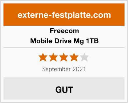 Freecom Mobile Drive Mg 1TB Test